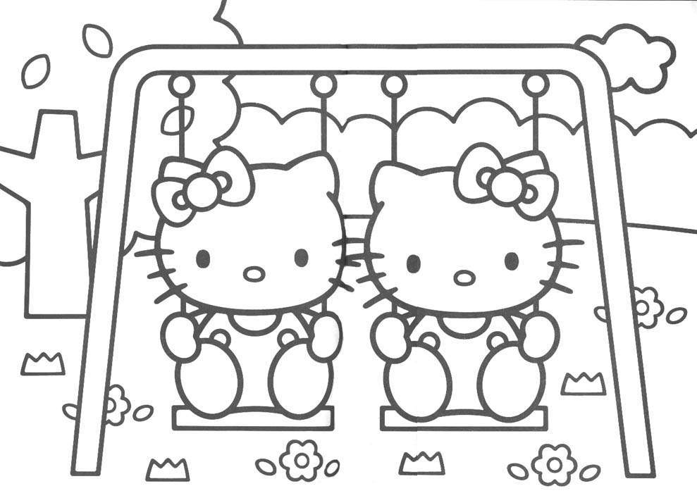 Desenho como desenhar o hello kitty in pintar e colorir
