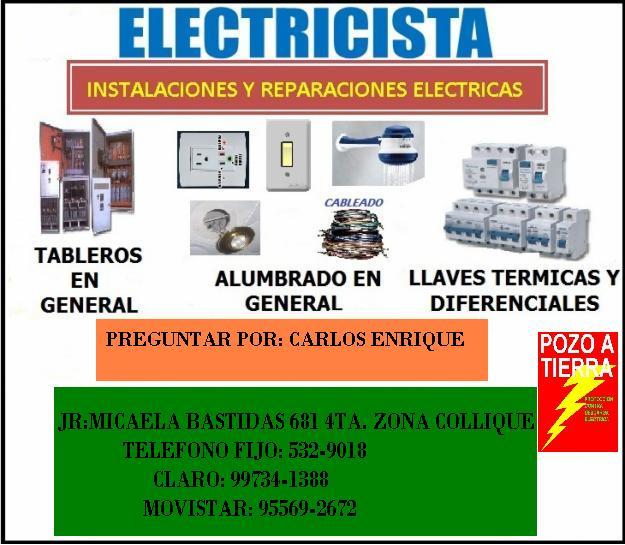 Noticias de lima norte electricista a domicilio para toda - Electricista a domicilio ...