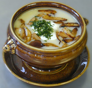 Sup Kentang Jamur