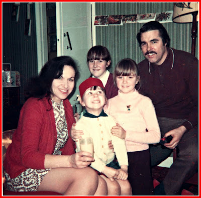 family, seventies, christmas