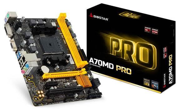 BIOSTAR AMD A70MD PRO