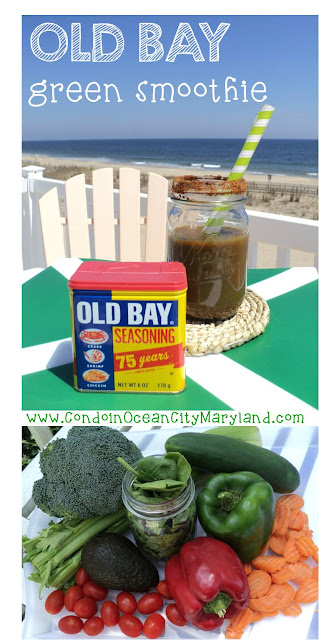 Old Bay Green Smoothie at Ocean Colony 7 in Ocean City, Maryland