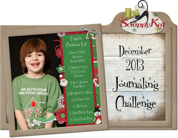 journaling challenge add flier