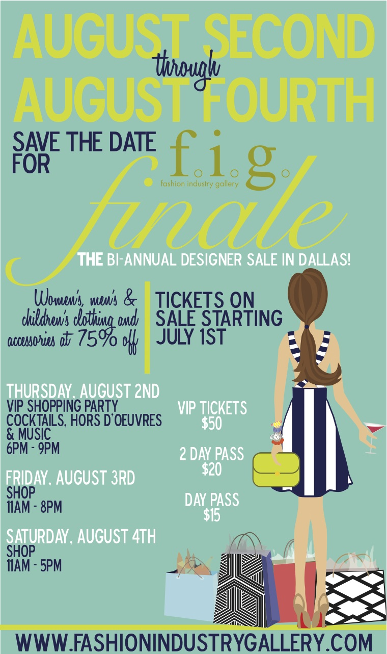 Fashion Industry Gallery - Fig finale is held at the fashion industry gallery at 1807 ross ave dallas 75201 click here for more information or to purchase tickets