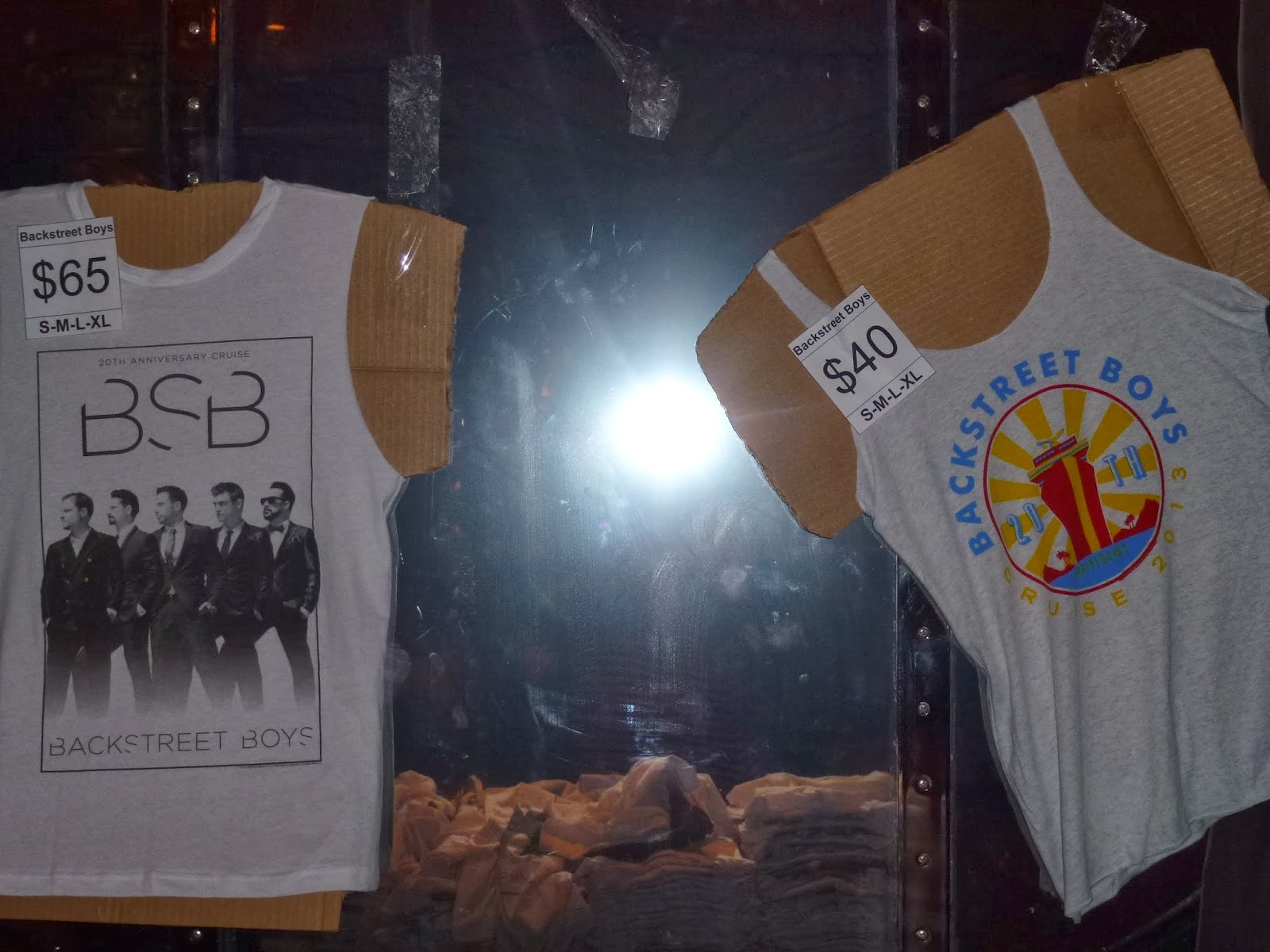 Backstreet Boy Cruise 2013 tank top