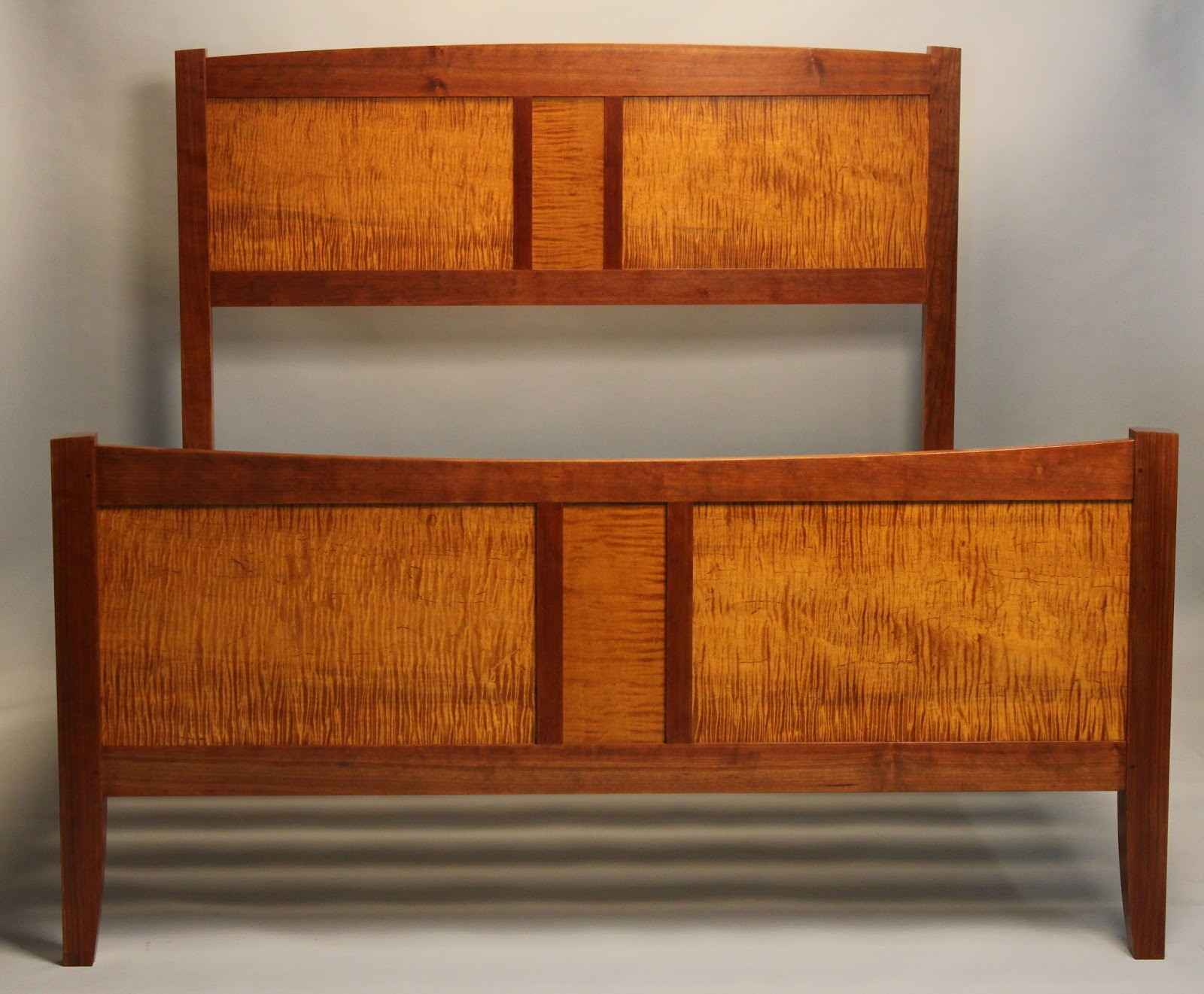 Doucette and Wolfe Fine Furniture Makers: Frame and Panel Bed