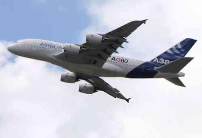 Фото Укринформ:полёт А380