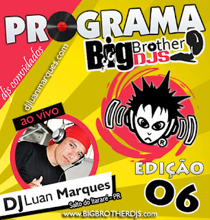 CD Big Brother DJ's PROGRAMA 6 (Eletro House)