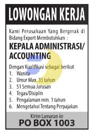 Lowongan Kerja Lampung Juni 2015 (TERBARU)