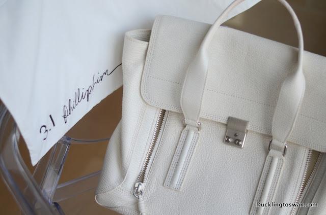 white pashli satchel phillip lim
