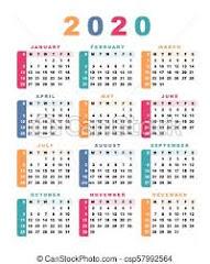 CALENDARIO 2019-2020