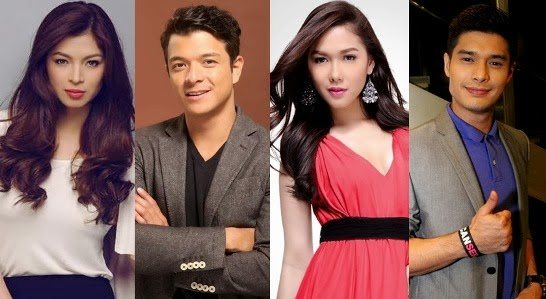 The Legal Wife cast - Angel, Jericho, Maja and JC