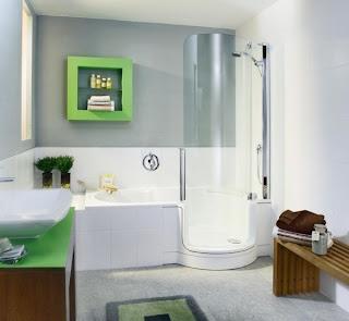 kamar+mandi+anak+kecil+warna+putih+hijau Desain kamar mandi kecil cantik untuk anak anak