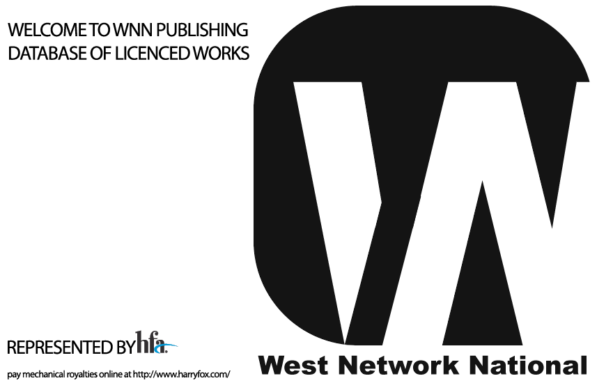 WELCOME TO WNN PUBLISHING DATABASE OF LICENSED WORKS MADE AVAILABLE FOR USE.