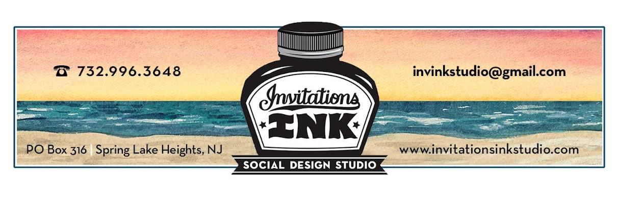Invitations, Ink, Social Design Studio
