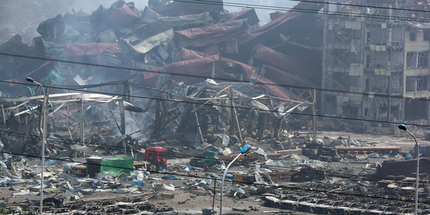 Chinese port of Tianjin death toll rises to 112, with 95 missing