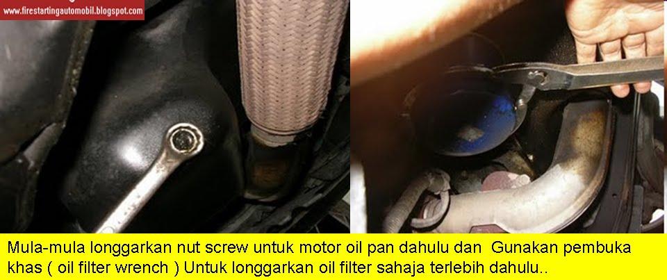 Fire starting automobil diy buat servis kereta for Motor oil fire starter