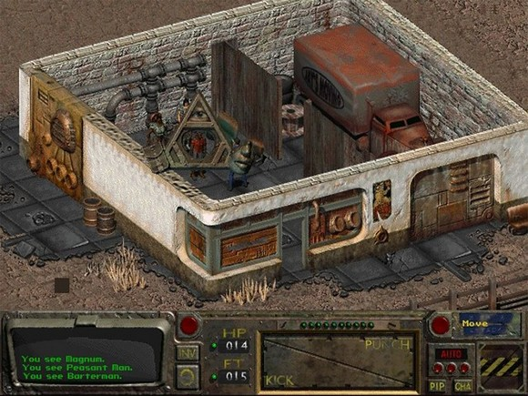 fallout screenshot pc game review gameplay 5 Fallout GOG Classic ISO RAiN
