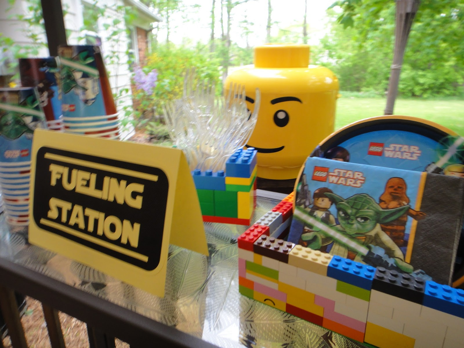 Lego Star Wars Party Free Printables Games Menu Ideas
