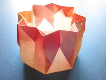 Origami Instructions Octagonal Container