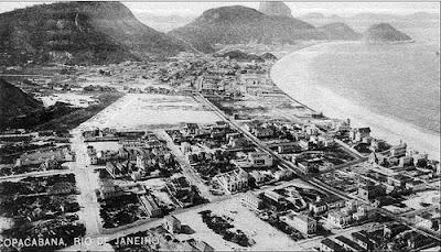Praia de Copacabana Antigamente