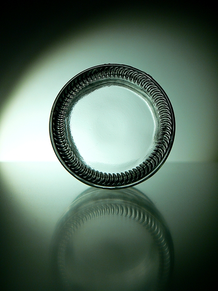fotografia de frasco de vidro, glass photographie