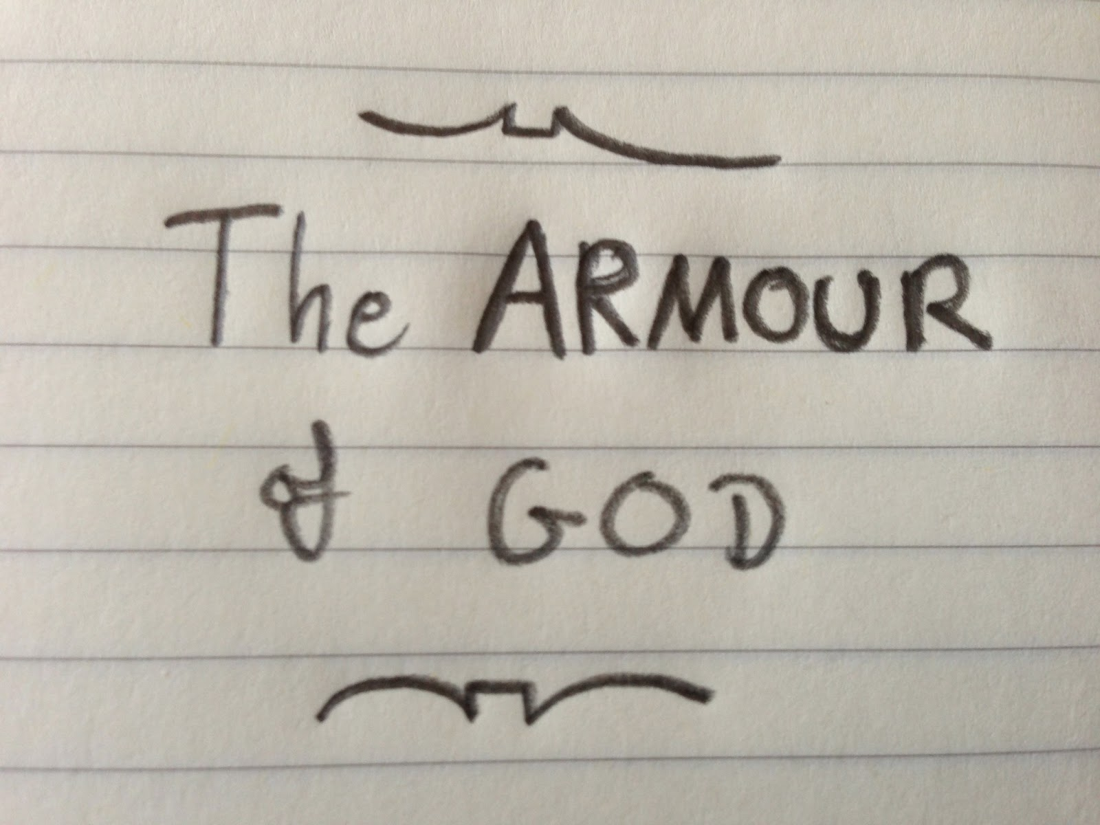 The armour of god thomas creedy to their understanding of the passage in question or the crucial issue of spiritual warfare this is considerably lengthy at just under 3000 words fandeluxe Gallery