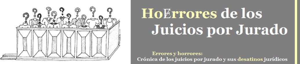 Errores de los Juicios por Jurado