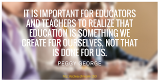 quote from Peggy George