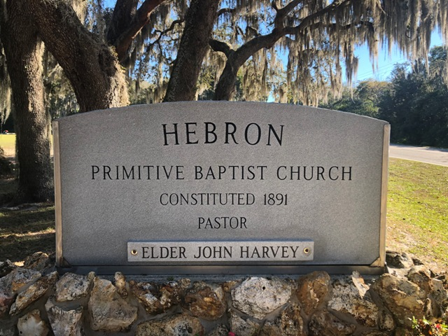 Hebron Primitive Baptist Church