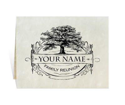 family reunion invitation from FreshRetroGallery