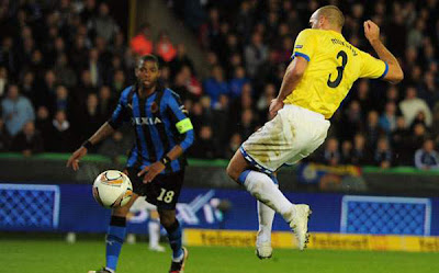 Club Brugge 1 - 2 Birmingham (2)