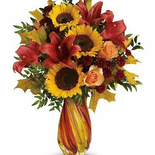 Order An Autumn Beauty Vase of Flowers