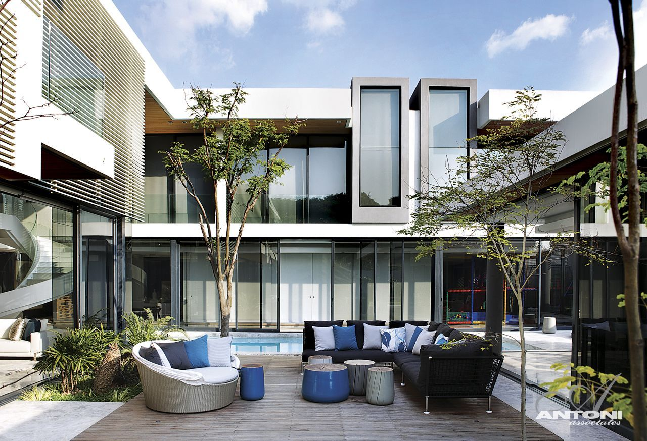 World of architecture dream homes in south africa 6th for Contemporary mansions
