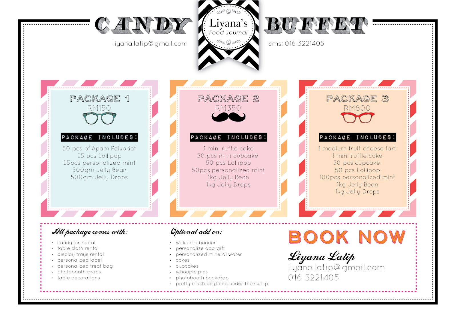 Liyana's Food Journal: Candy Buffet available with LFJ now :)