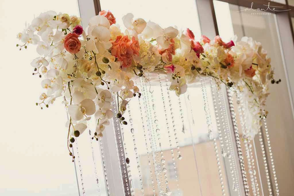 Four Seasons Hotel Seattle wedding, luxury wedding ceremony