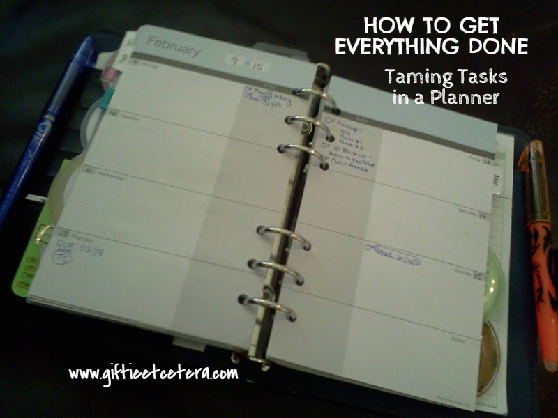 ggetting things done, planner, productivity, time management, tasks, to do list