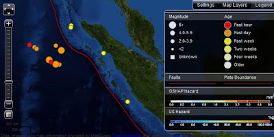Video Rekaman Gempa Bumi Di Aceh Sumatera Youtube 11 April 2012