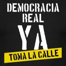 Democracia real ya!