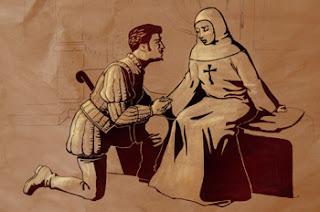 Representación de Don Juan y Doña Inés