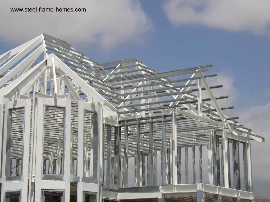 Arquitectura de casas m todos t cnicas y sistemas de - Casas steel framing ...