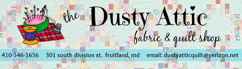 the dusty attic fabric and quilt shop