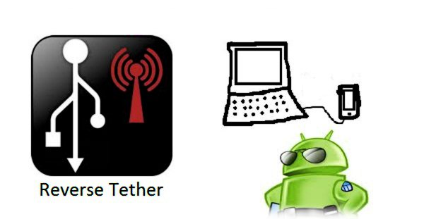 how to use android reverse tethering
