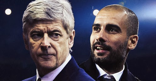 Wenger v Guardiola: A rivalry that never in existed.