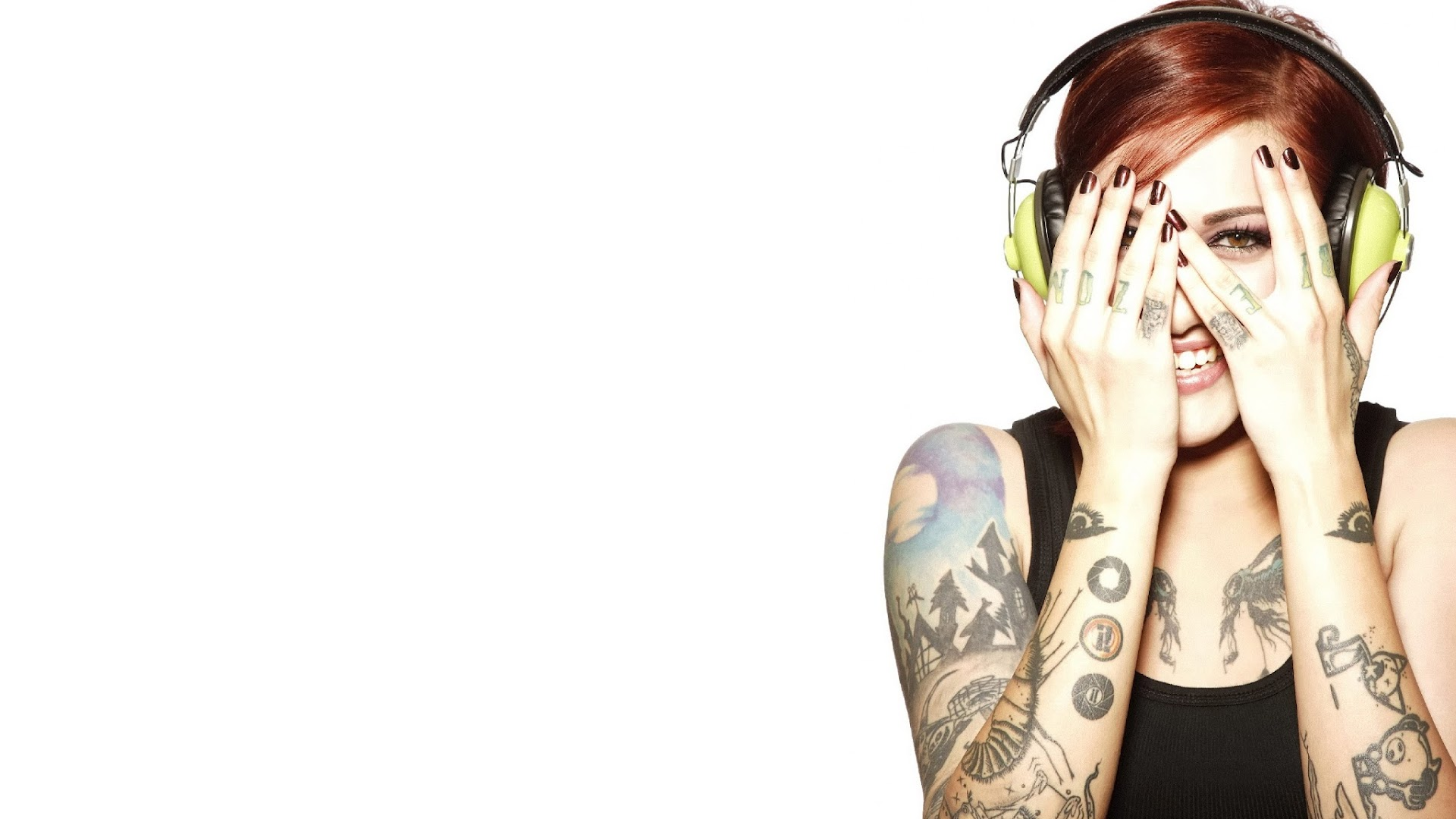 tattoo girl hd wallpaper - photo #3