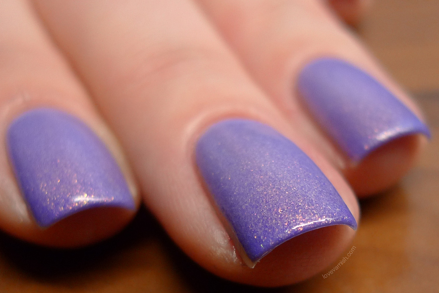 F.U.N Lacquer Purple Crocus purple lilac violet thermal polish