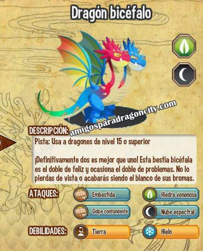 todas las estadisticas del dragon bicefalo