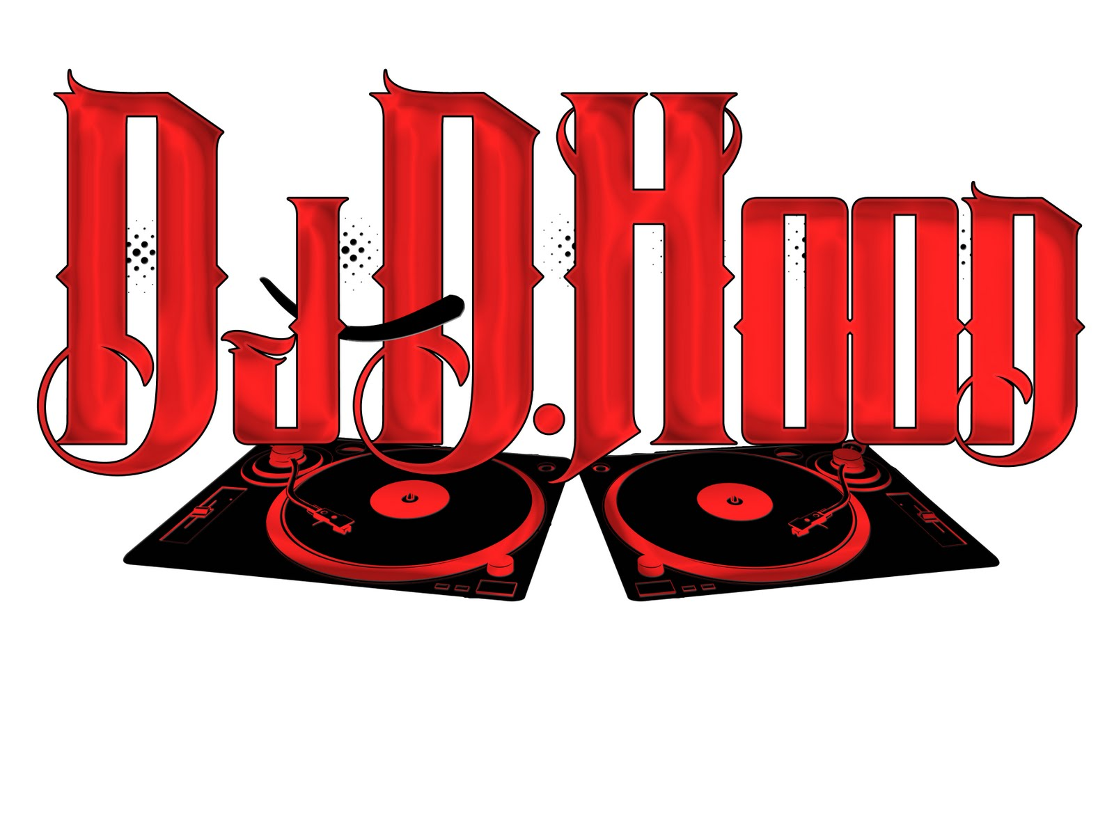 Blog Logo Dj D Hood Www Kodaxgraphixdesignz Com