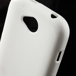 TPU Jelly Case with Matte Back Side for Lenovo A706 - White