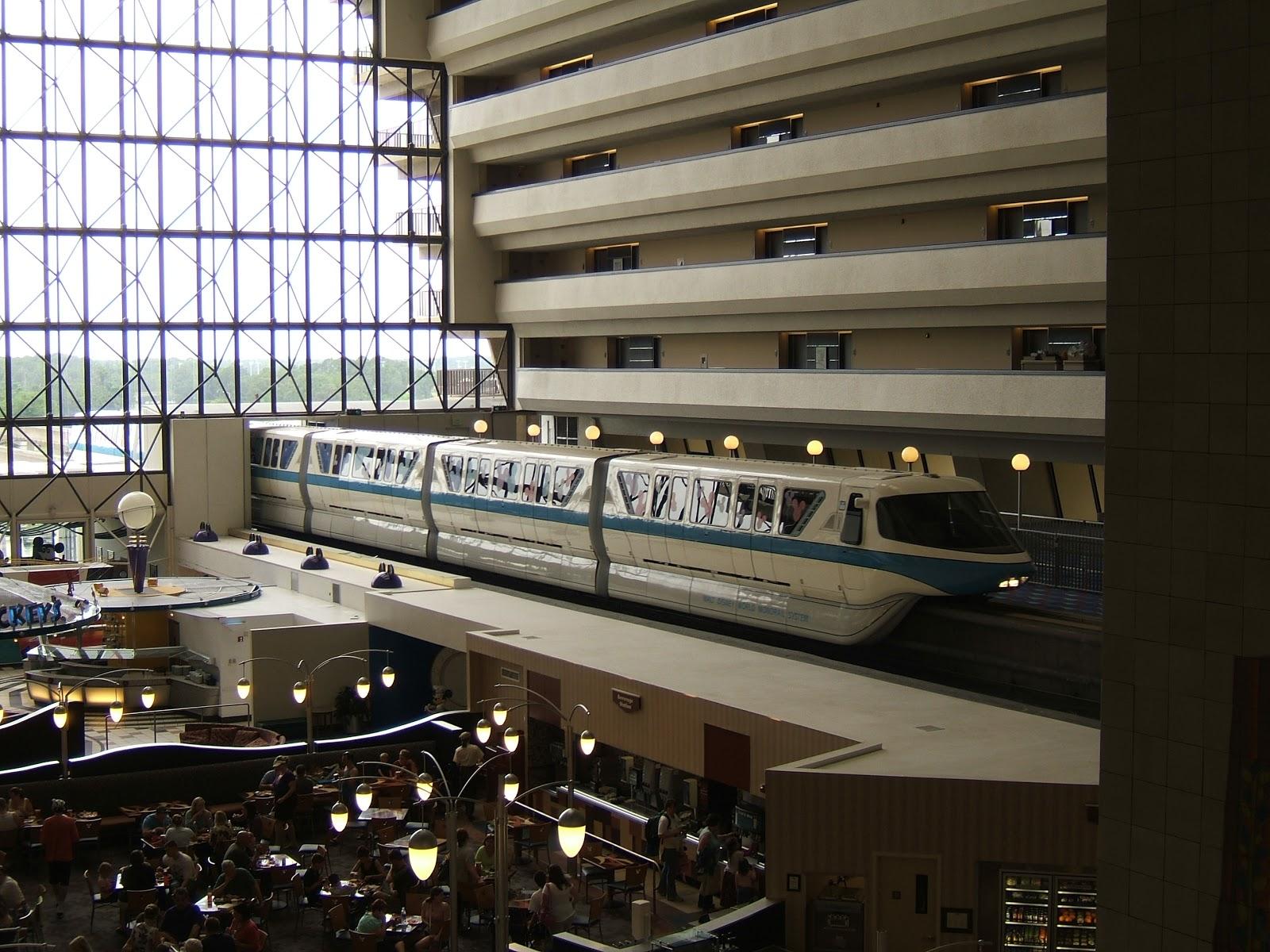 Digital disney world ddw pic 31 the contemporary resort for Contemporary hotel